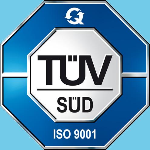 Steiff Luxurious Materials - TÜV SÜD - ISO 9001 Certification