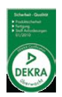 The Dekra certificate