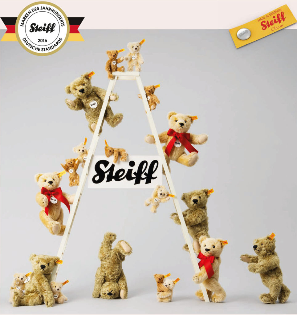 Steiff Collections - Button in Ear Toys and Bears