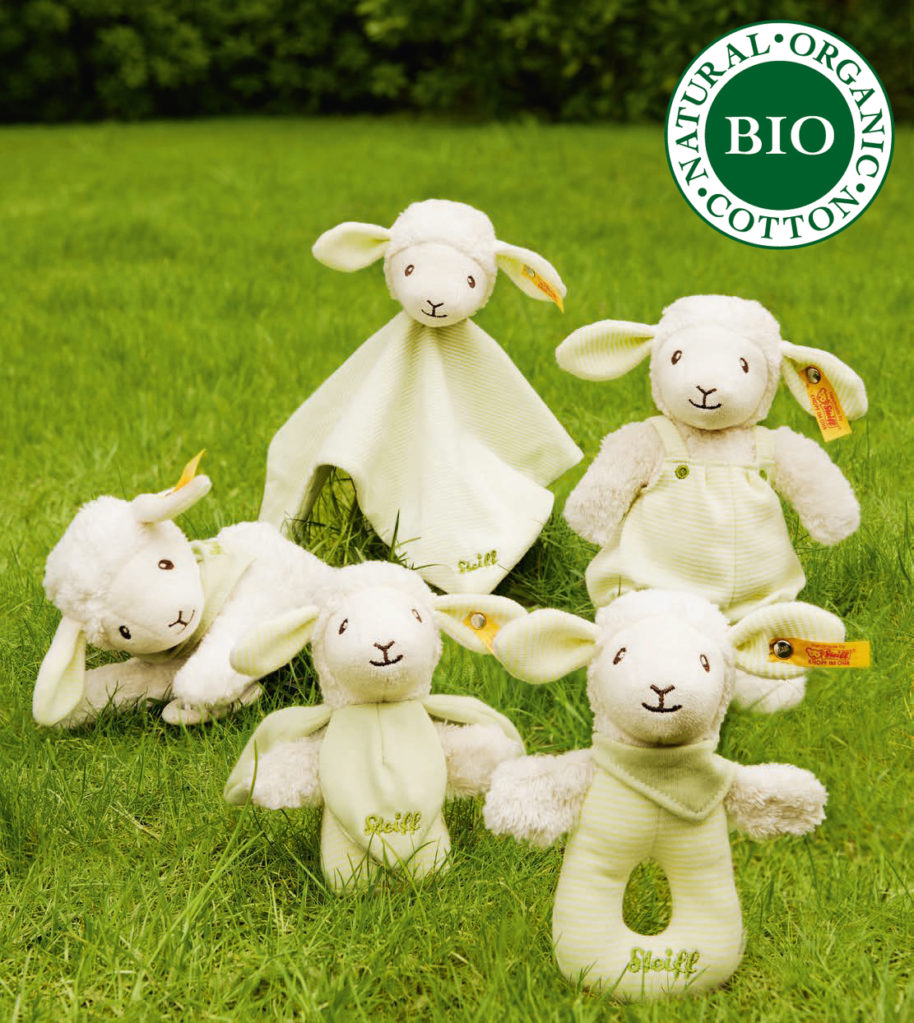 Steiff Collections Bio-Baby Natural Organic Cotton