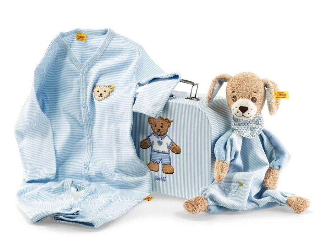 Good Night Dog Gift Set Comforter Amp Romper Steiff