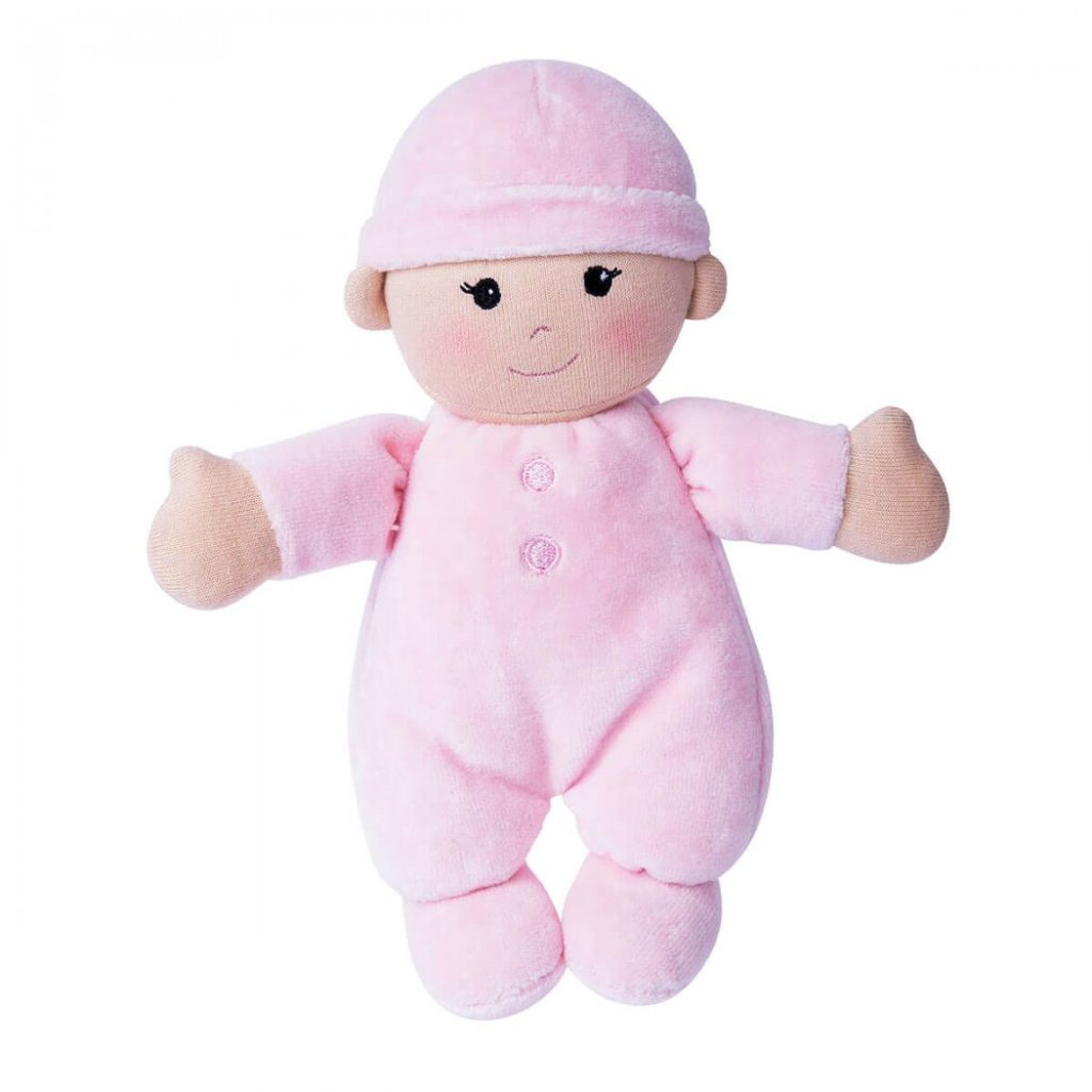 Organic My First Baby Doll Pink Super Soft 100
